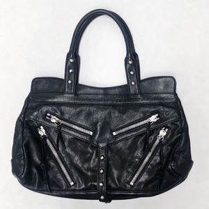 NWOT Botkier Trigger Leather Satchel Black, Medium
